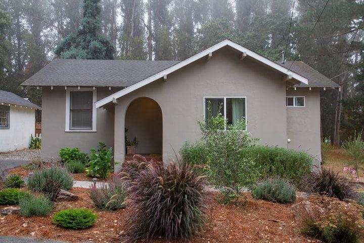 Petaluma Cottage in wine country