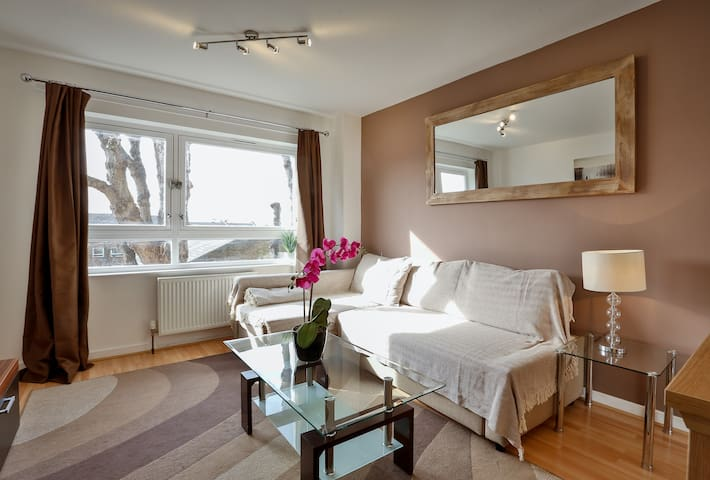 Outstanding double in a nice quiet flat(MYGAR 3) - Londres - Apartamento