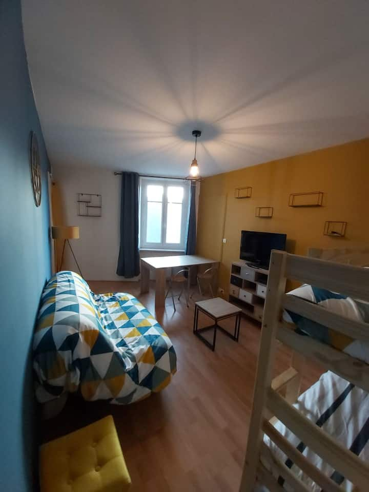 Appartement centre Saint-Cast et 100m de la plage