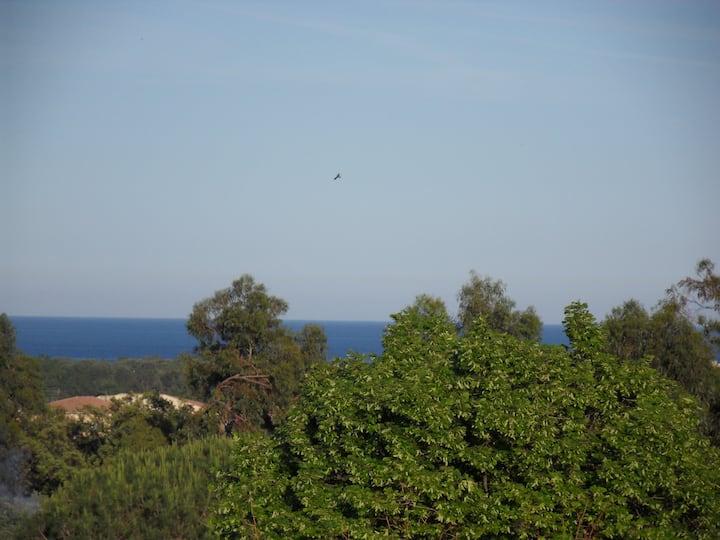 villa + jardin , 5 mn des plages et  des rivières