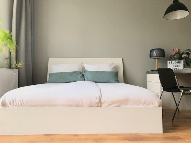 gemütliches Bett für ruhige Nächte