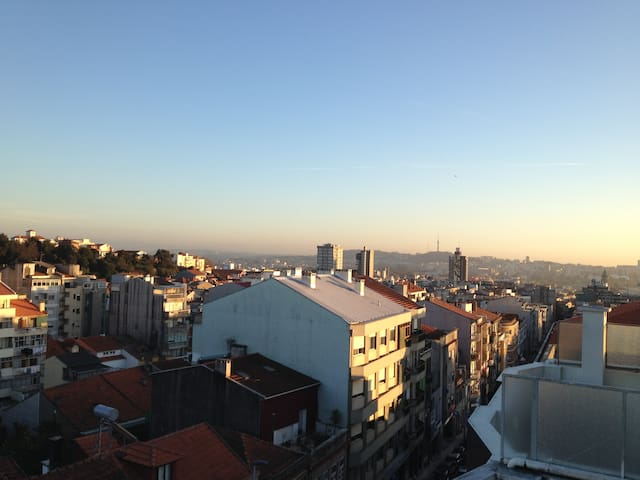 Top floor apartment, amazing view - Porto - Daire