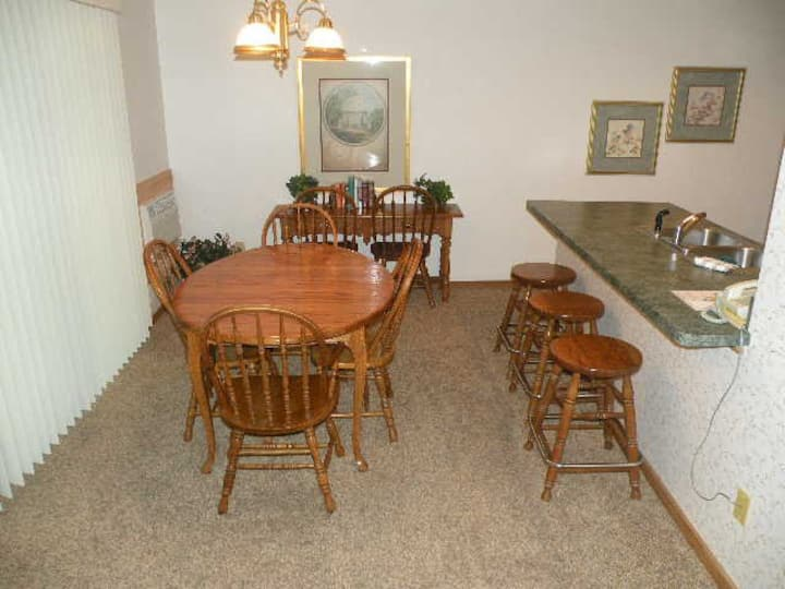 Stream Side Condo at Shanty Creek in Bellaire
