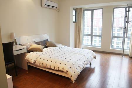 近徐家汇虹桥机场 欢乐谷 九号线直达 居家私密温馨简约功能型公寓 - Şangay - Daire