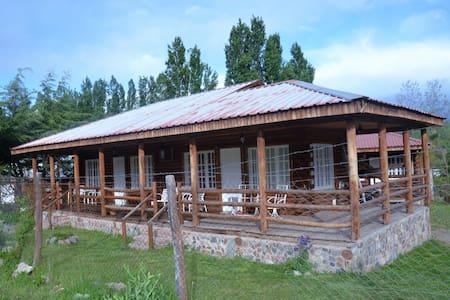 Cabaña de Montaña. El Salto, Potrerillos, Mendoza - Potrerillos - 小木屋