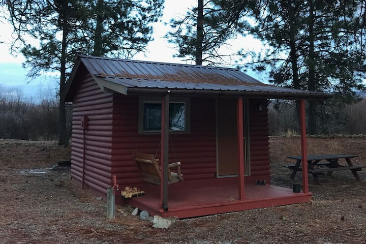 One-Room Cabin on the East Fork of the Bitterroot
