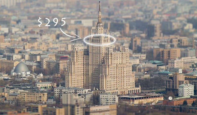 Tower 152 sq/m - Moskva - Loft