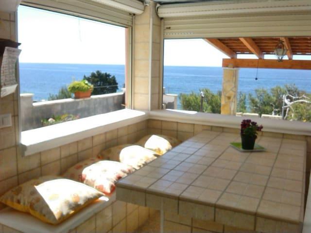 san gregorio villa 6 posti pineta piscina barbeque - Torre Vado - Villa