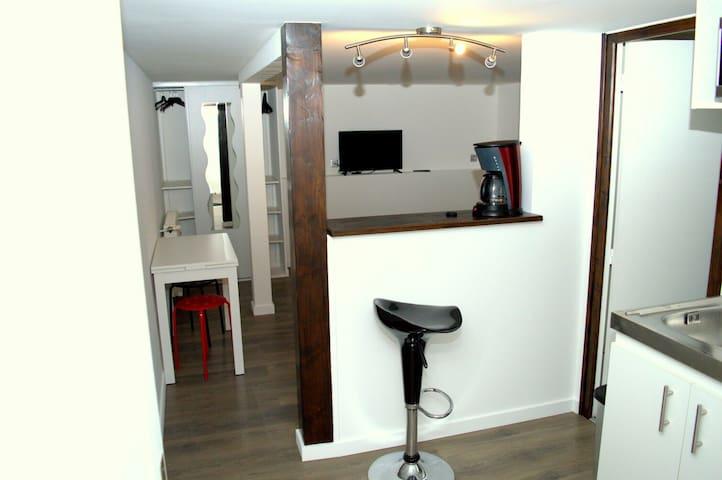 Studio privé en pavillon - Neuilly-sur-Marne - Casa