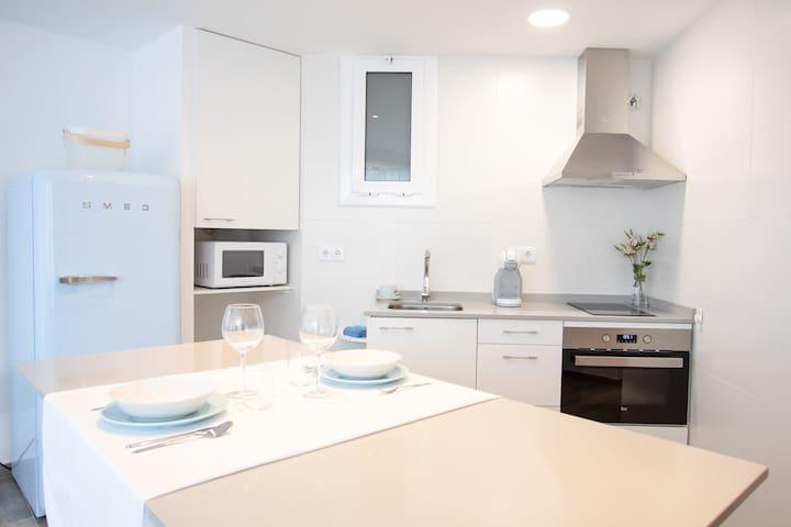 CALMA HOME-Apartamento luminoso a 1 minuto del mar