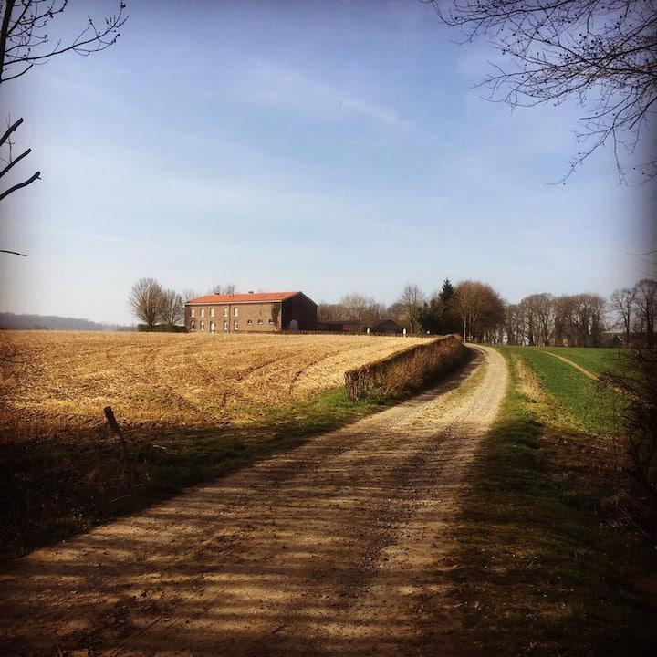 Uniek gelegen boerderij op landgoed Kasteel Mheer