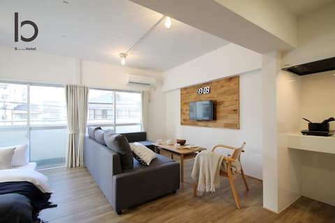 isbld201 1BR good for 4PPL, close to peace park