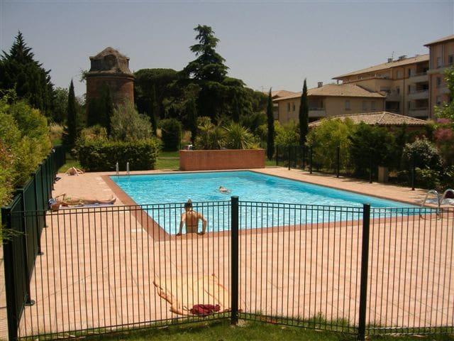 Appt T2 neuf Terrasse et piscine - Tuluza - Apartament