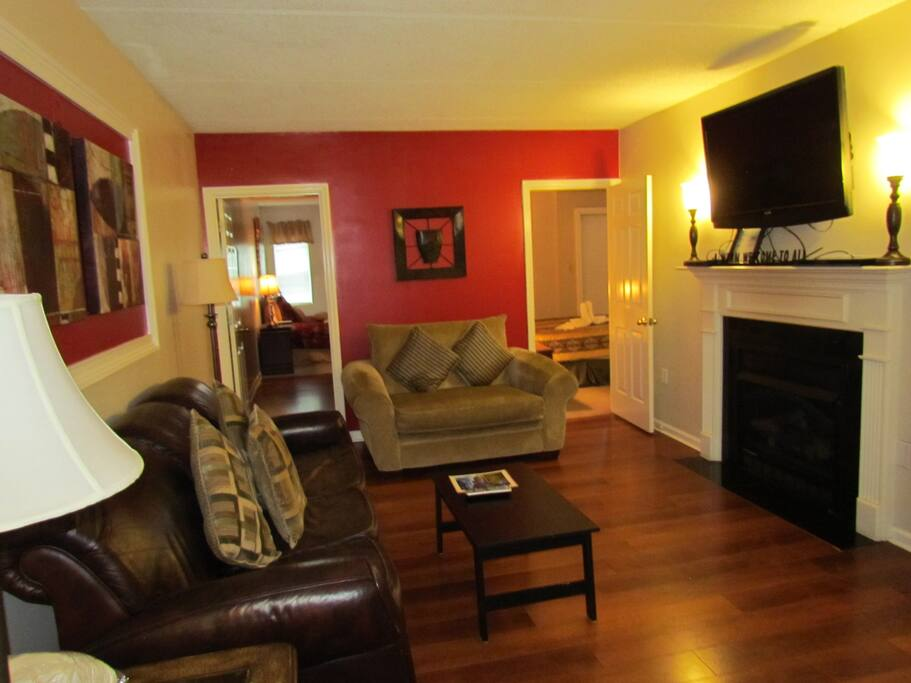 Another view of the living area.