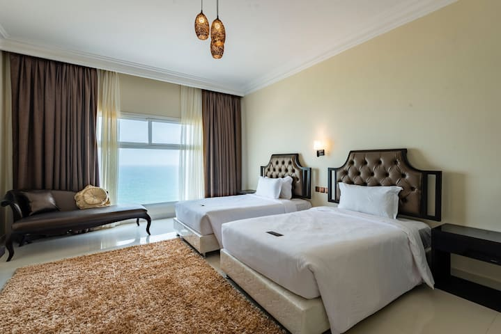 Standard Room -  Twin Sea View