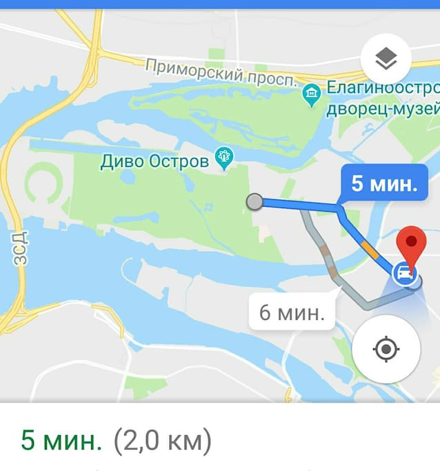 It takes 5 min to get from the apartment to Stadium Saint Petersburg which will be hosting 2018 World Cup matches!!!