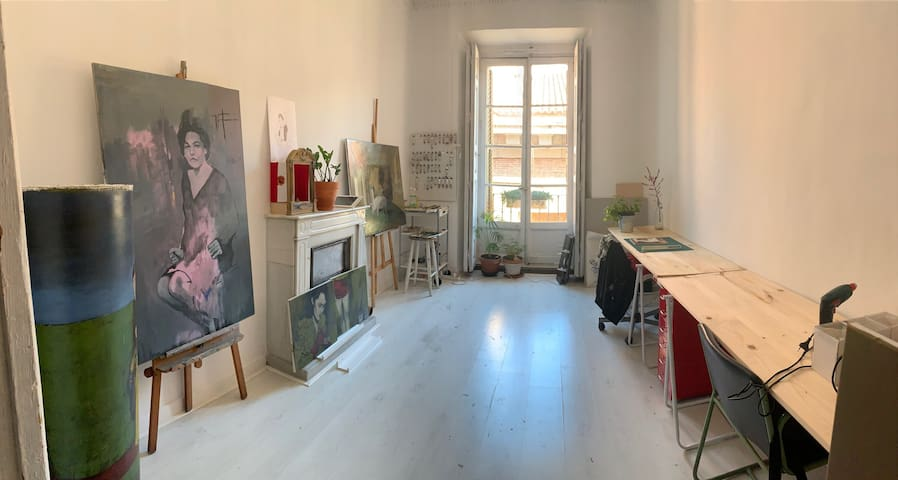 My artist studio