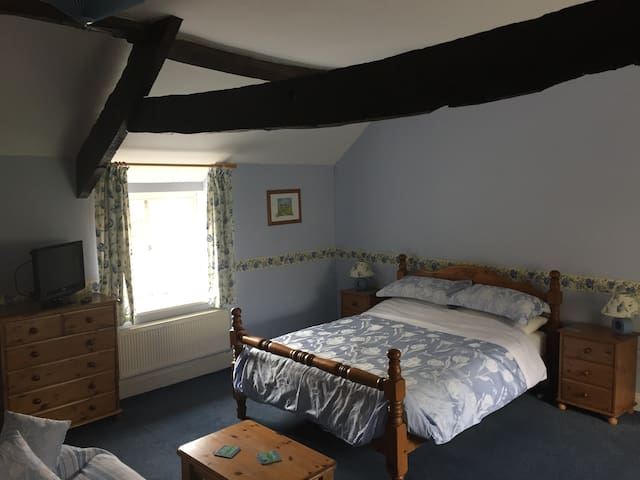 Stunning ensuite room at Castle Farm - Stoke-sub-Hamdon - House