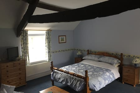 Stunning ensuite room at Castle Farm - Stoke-sub-Hamdon - Casa
