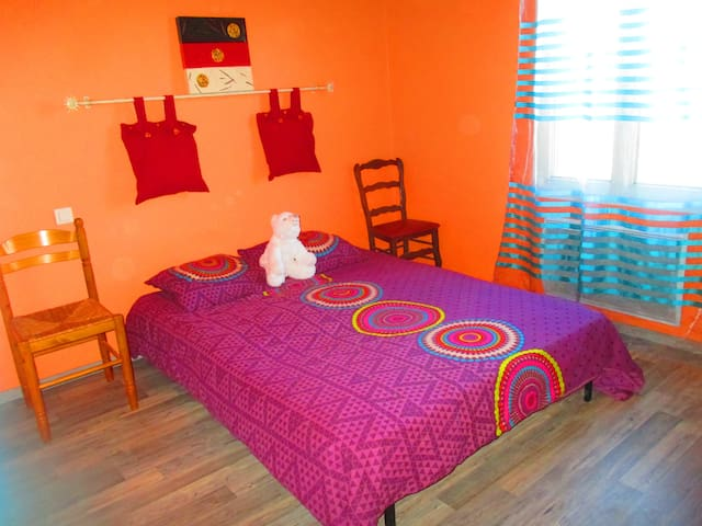 Chambre chez l'habitant-calme et conviviale