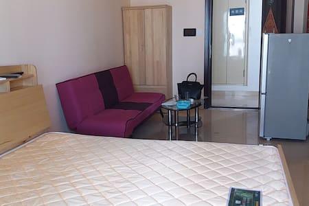 270度观海海景房,温暖舒适的家 - Yantai - Lejlighed