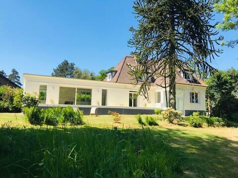 Les Varengues: superbe villa à Varengeville !