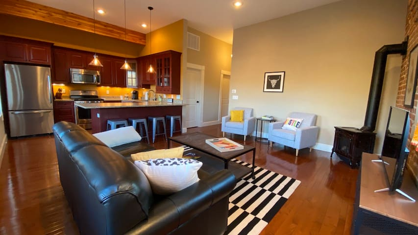 Edna's Place - Snazzy Condo in Downtown Salida