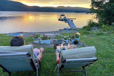Adirondack Lakefront Retreat