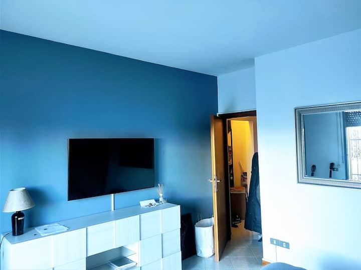 Rimini blue house