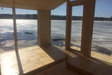 Дом на воде на Волге - просыпаться с настроением - Мышино - Nature lodge