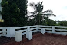 Terrace view early in the morning