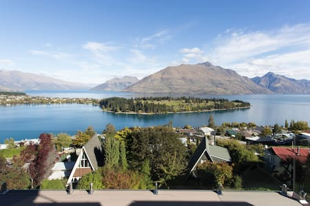 QT Hill.Walk to town.Great views 2. - Queenstown