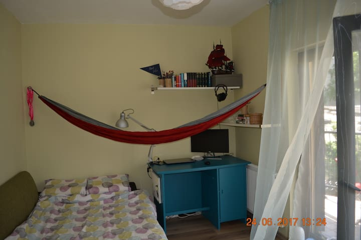 The hammock room/ Your remote workplace
