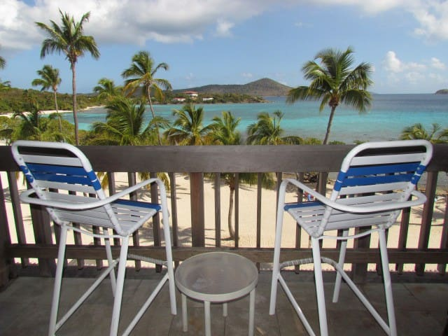 Sapphire Beach Beachfront Condo free WiFi - East End - Wohnung