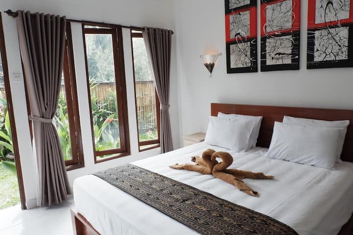 Ramaya Private Double Bedroom in Ubud Bali