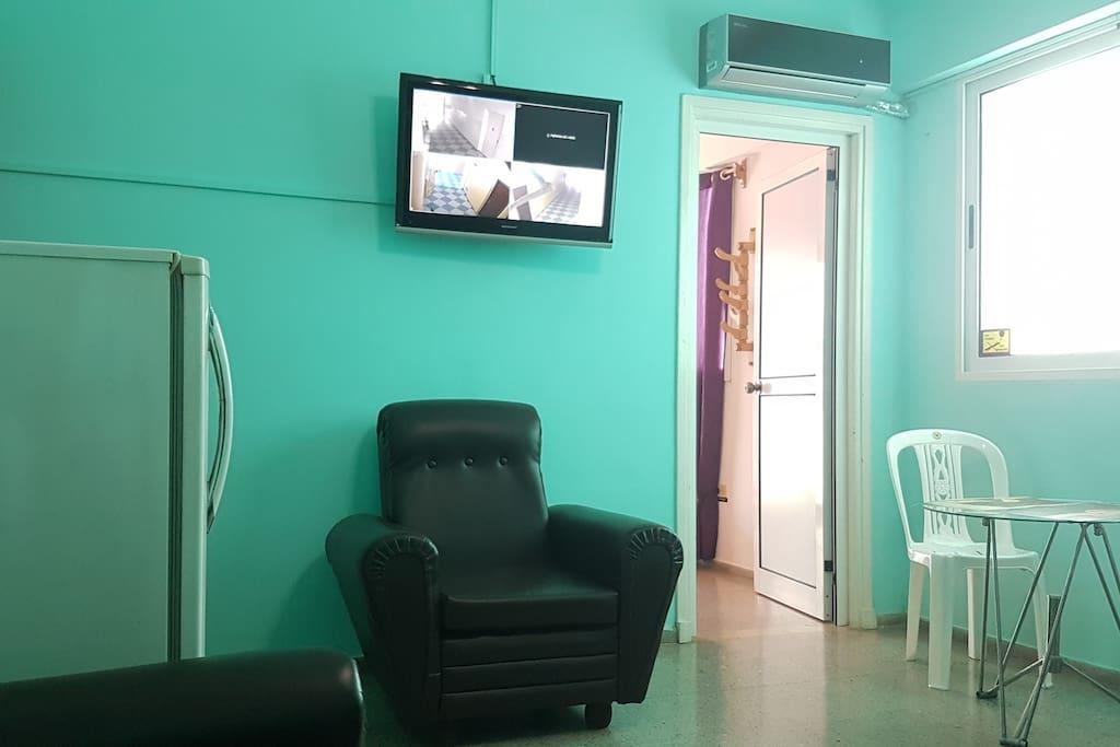 Sala climatizada