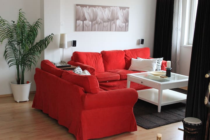 Luxurious double floor apartment with sauna