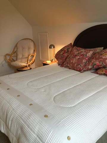 Second Floor Bedroom with double bed.