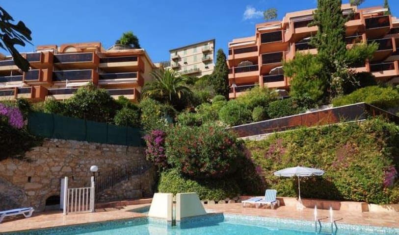 BEAU STUDIO VUE SUR MER - MONACO - BAIE CAP MARTIN - Roquebrune-Cap-Martin - Condominio