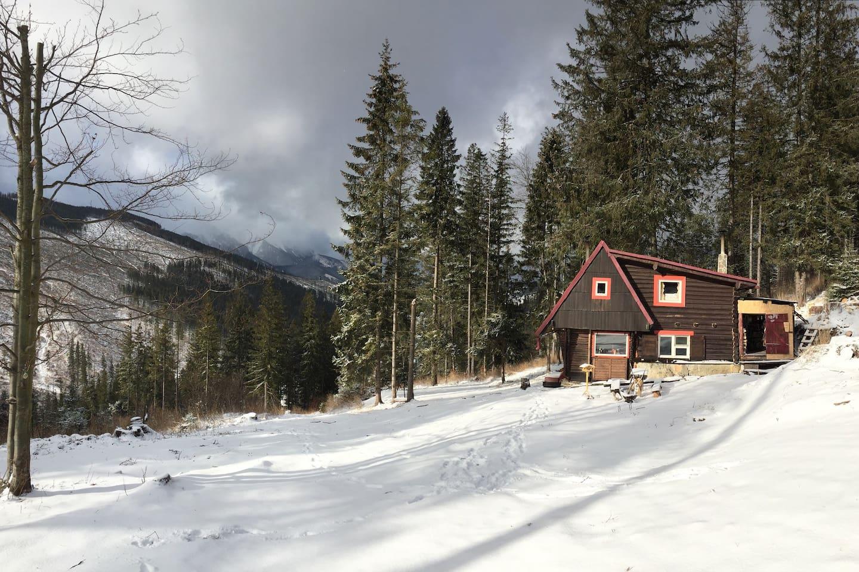 Childhoods dream cabin cabins for rent in ždiar prešovský kraj slovakia