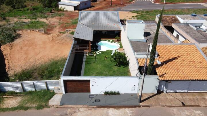 Casa própria para temporada em Pimhi-MG.