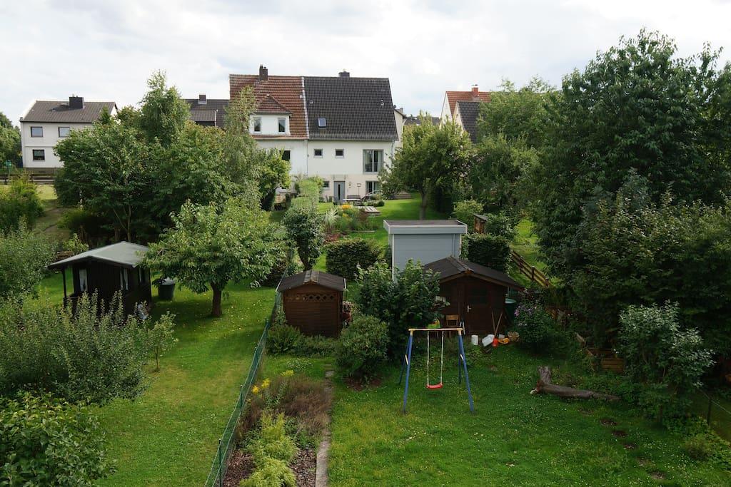 Etage in Haus mit Garten 10 Minuten zur documenta