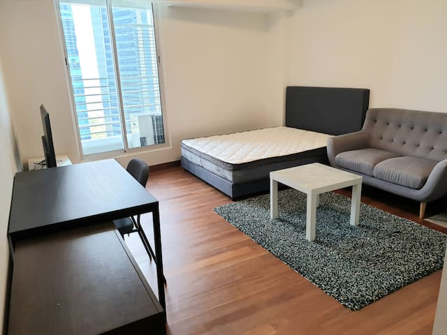Studio apartment * BRAND NEW* -Downtown/Raffles