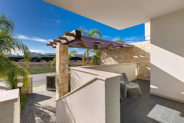 1714 Le Dune Villas - Trilo con veranda