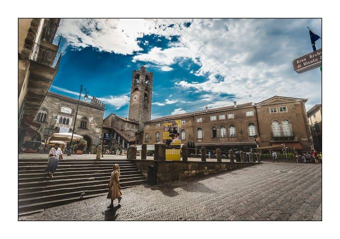 LocandaMimmo, romantic Città Alta (old town)