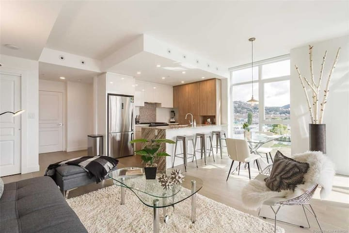 Bright Downtown Kelowna Condo