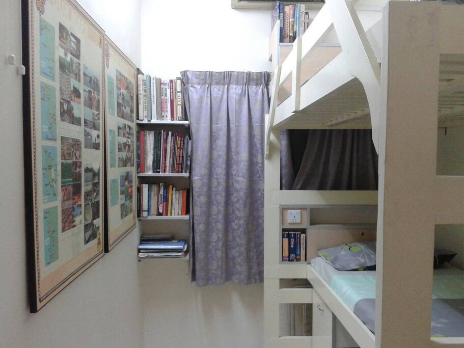 Bunk bed set up