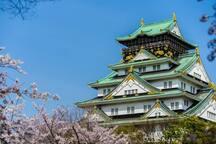 (F-3) 난바역5분! 도톤보리. 신사이니바시. 쿠로몬시장 3분! 오사카 아시아 하우스!!