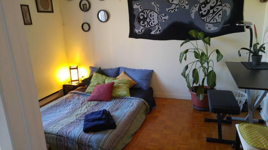 ~ Confort garanti dans grand appartement ~