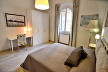 One of the Two Double Bedrooms of the Apartment